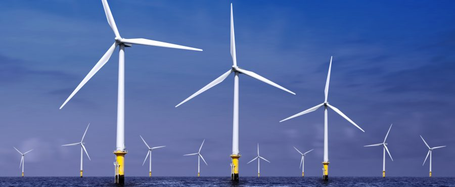 elektrownia wiatrowa na morzu