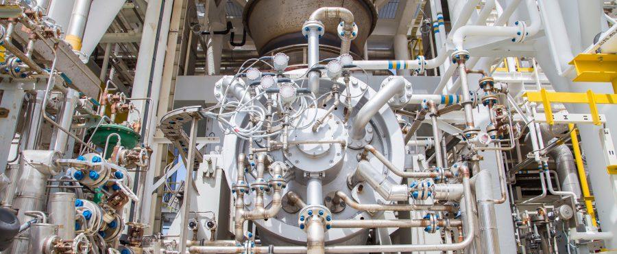 turbina z gazem