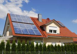 Panele PV na dachu