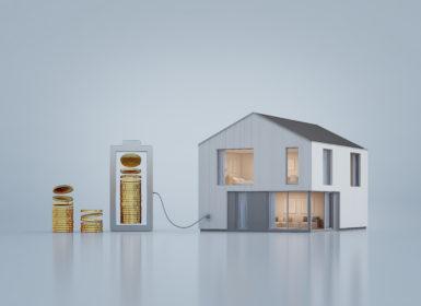 zobrazowanie domu pasywnego